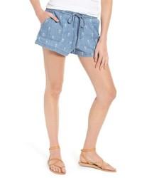 Selma pineapple print shorts medium 4952639