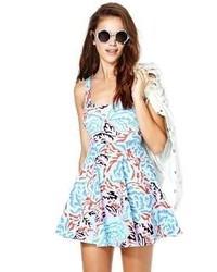 Electric maze dress medium 59249