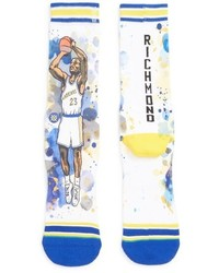 Stance Mitch Richmond The Rock Watercolor Print Socks