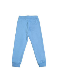 Mini Rodini Wolf Print Organic Cotton Jogging Pants