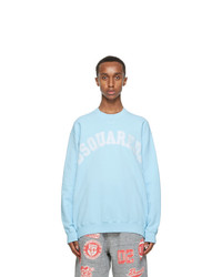 DSQUARED2 Blue Logo Sweatshirt