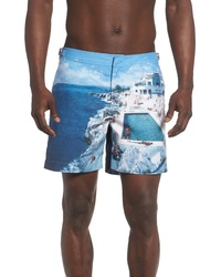 Orlebar Brown Bulldog Roc Pool Ii Photographic Swim Trunks
