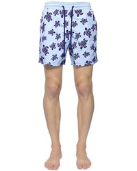 Vilebrequin Moorea Sea Turtles Printed Swim Shorts