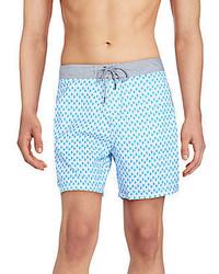 Mr.Swim Bumps Printed Swim Trunks