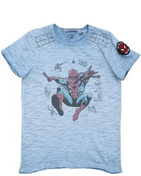 Spiderman Slub Cotton Jersey T Shirt