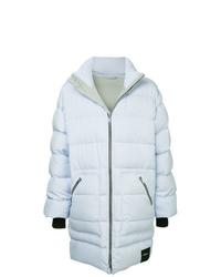 Light Blue Puffer Coat