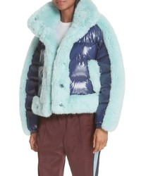 Opening Ceremony Faux Down Puffer Coat