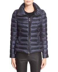 Moncler Agape Water Resistant Hooded Down Jacket