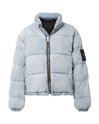 Alexander Wang Appliqud Quilted Denim Jacket