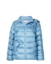 RED Valentino Bow Detail Puffer Jacket