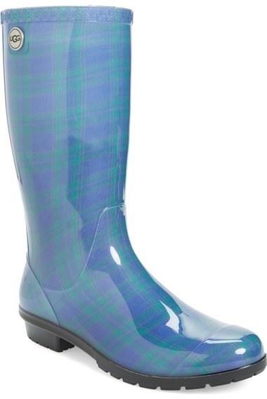 1fa350e7eca $79, Ugg Shaye Genuine Shearling Lined Waterproof Mid Calf Rain Boot