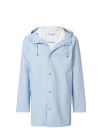 Light Blue Raincoat