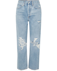 Agolde 90s Distressed High Rise Boyfriend Jeans