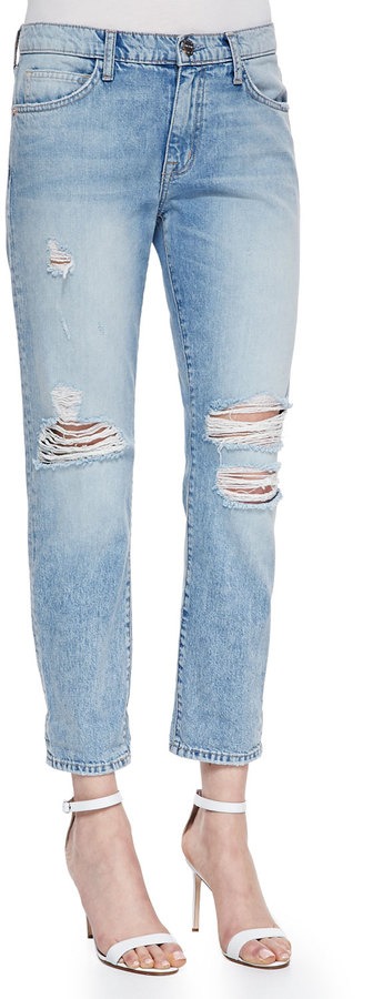 Current/Elliott The Fling Point Break Destroyed Jeans | Where to ...