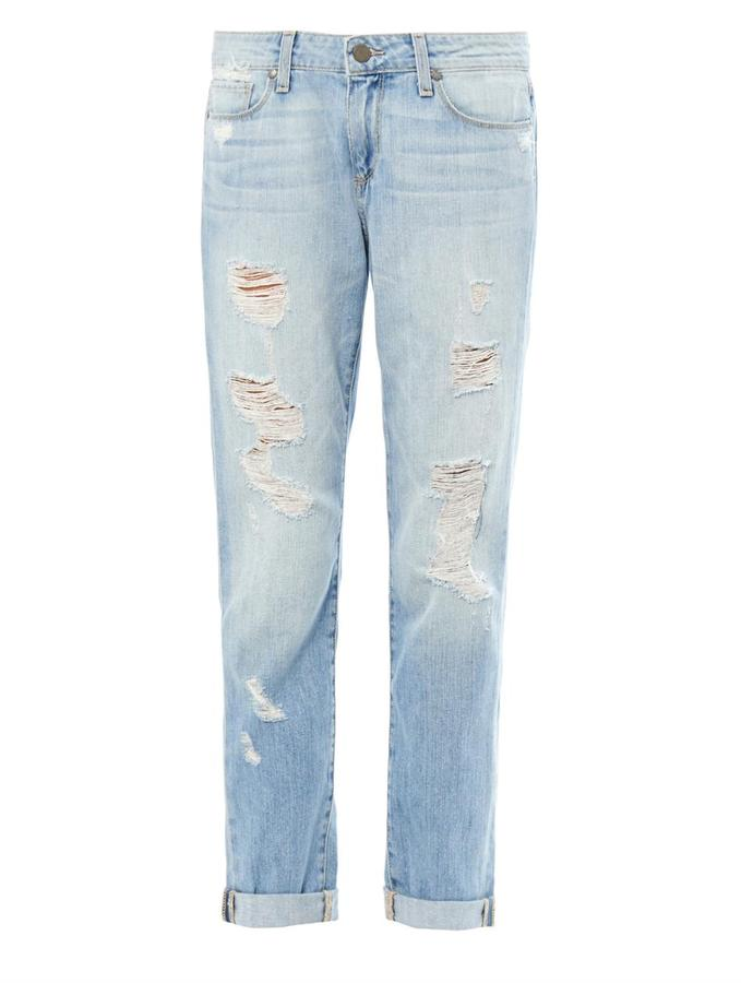 Paige Denim Tyler Distressed Boyfriend Jeans | Where to buy & how ...