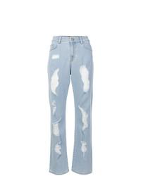 Distressed boot cut jeans medium 8291220