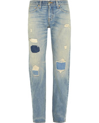 J.Crew Point Sur Denim X Rocker Distressed Boyfriend Jeans