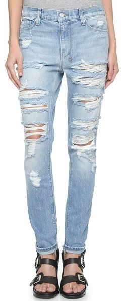 cost charm forefront of the times good out x $268, Ksubi Slim Straight Destroyed Jeans