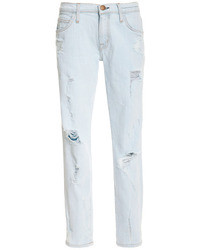 Current/Elliott The Fling Distressed Denim Jeans