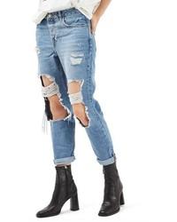 Topshop Hayden Ripped Boyfriend Jeans
