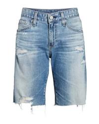 AG Nikki Cutoff Denim Shorts