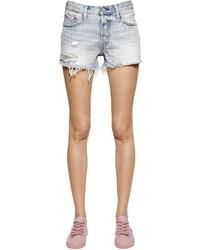 Levi's 501 Destroyed Cotton Denim Shorts