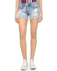 Denim distressed cutoff shorts medium 422754