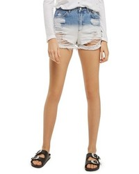 Dip dye rip mom shorts medium 3742548