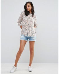 Vero Moda Distressed Denim Shorts