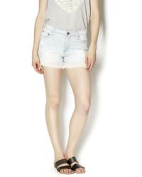 Elan Lace Bottom Shorts