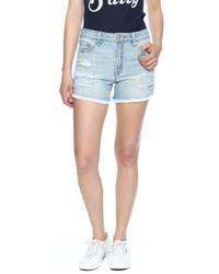 Just USA High Raw Hem Shorts