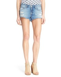 Rag & Bone Jean Destroyed Cutoff Denim Shorts