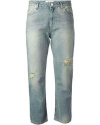 Acne Studios Pop Trash Ripped Denim Jeans