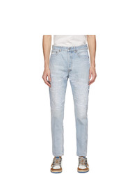 Golden Goose Blue Distressed Happy Jeans