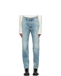 Gucci Blue Eco Bleached Organic Jeans