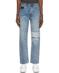 Ksubi Blue Ripped Anti K Jeans