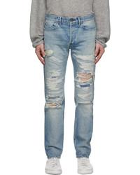 John Elliott Blue The Daze Jeans