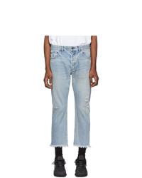 John Elliott Blue The Kane 2 Jeans
