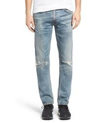 Bowery distressed slim fit jeans medium 3730454