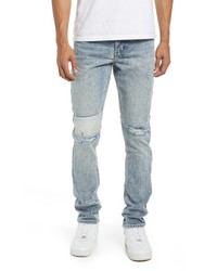 Ksubi Chitch Retrograde Trashed Skinny Fit Jeans
