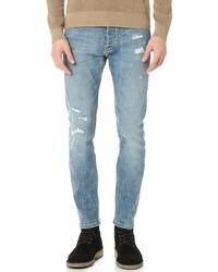 Destroyed slim fit denim jeans medium 1154792