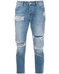 Distressed cropped jeans medium 954681