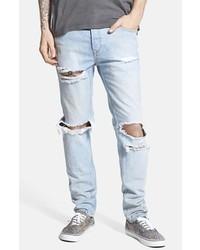 ab21366d4c07 ... Topman Distressed Skinny Fit Jeans