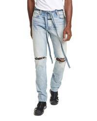 Fear Of God Distressed Slim Leg Jeans