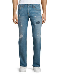 0c02e3641 ... True Religion Geno Triple Needle Distressed Denim Jeans Main Stage