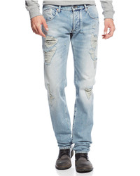 42e5f971 Men's Light Blue Jeans by Armani Jeans | Men's Fashion | Lookastic.com