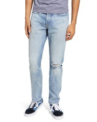 Frame Lhomme Slim Fit Ripped Jeans