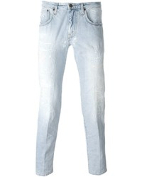 (+) People People Distressed Slim Fit Jeans