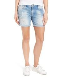 Mavi Jeans Pixie Ripped Denim Shorts