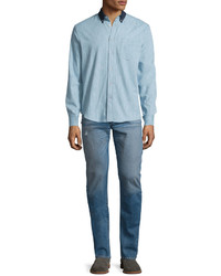 rag & bone Standard Issue Fit 2 Mid Rise Relaxed Slim Fit Jeans Clean Ludlow